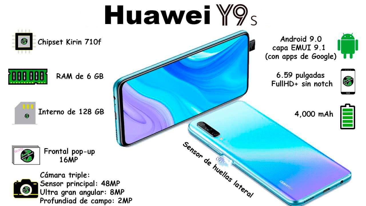 Cusco Celulares Huawei Y9s Caracteristicas