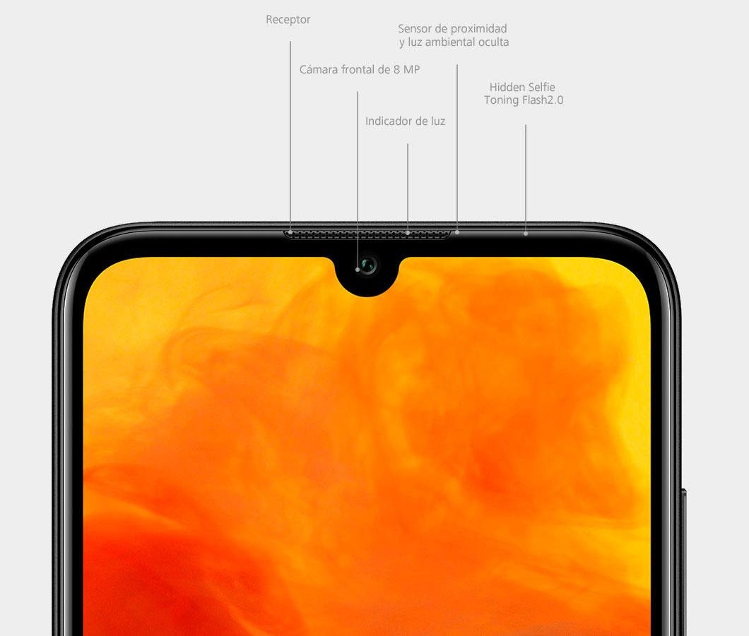 Huawei Y6 2019 camara caracteristicas