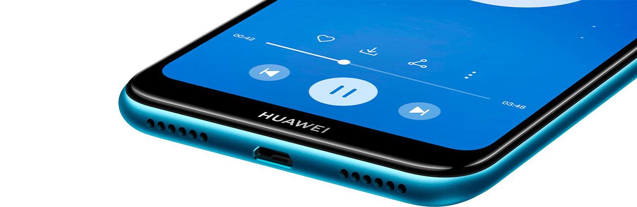 Huawei y6 2019 Sonido caracteristicas