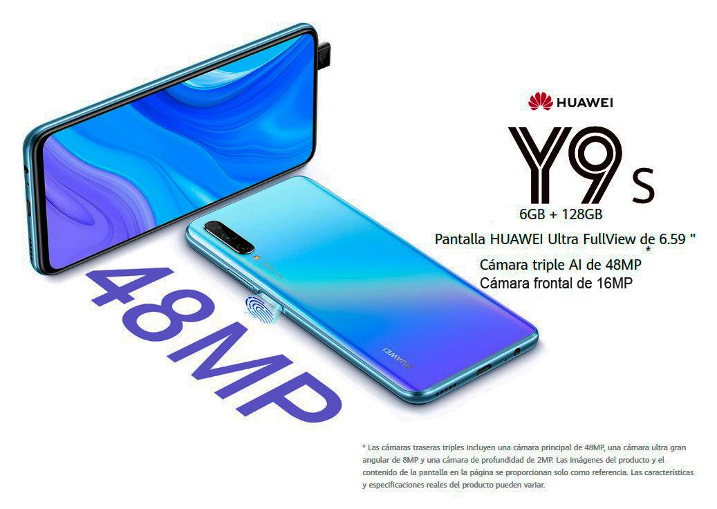 Huawei y9s - Cusco Celulares carateristicas