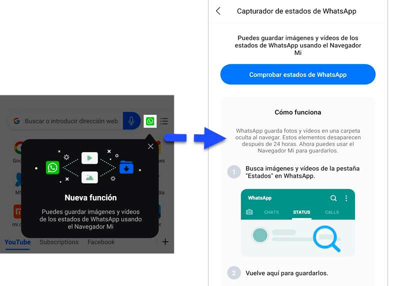 Redmi Note 9 y 9Pro whatsapp