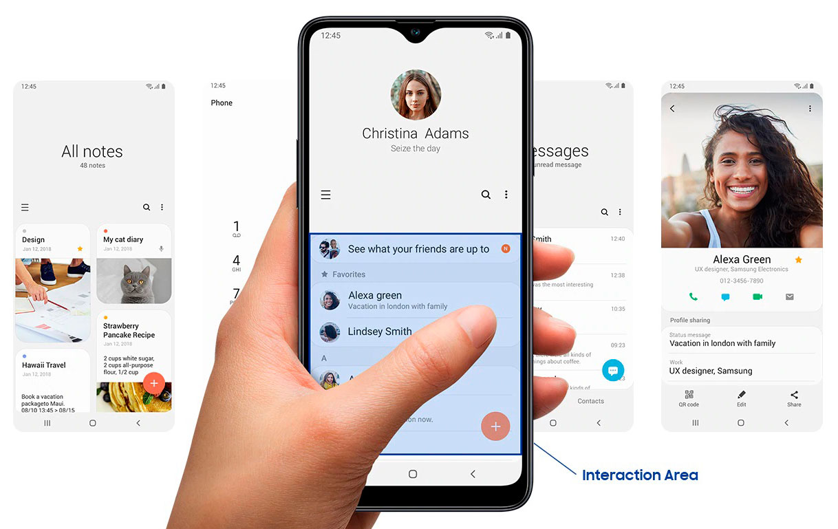 Samsung A20s Android one UI Core