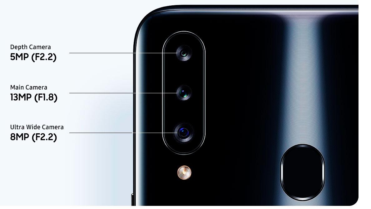 Samsung A20s Camara caracteristicas