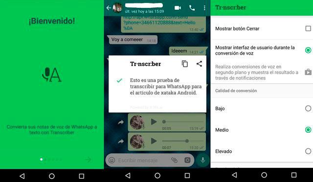 WhatsApp truco de como transcribir los mensajes de voz